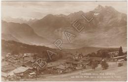 Chesières (Suisse) - Vue Générale - Les Dents Du Midi - Glaciers De Trient (Circulé En 1923) - VD Vaud