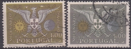 PORTUGAL 1959 Nº 857/58 USADO - 1910-... République