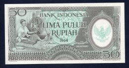 Banconota Indonesia - 50 Lima Puluh Rupiah 1964 (UNC/FDS) - Indonesia