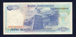 Banconota Indonesia - 1000 Seribu Rupiah 1992 (circolata) - Indonesia