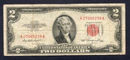 Banconota United States Of America - 2 Dollars 1953 (circulated) - Stati Uniti