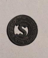 TOKEN JETON GETTONE TRASPORTO TRANSIT COLORADO SPRINGS BUS ZINCO - Monetary/Of Necessity