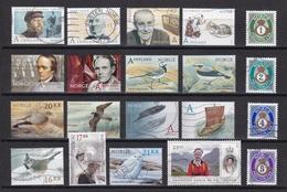 NORUEGA - Conjunto De Sellos Usados - Stamps