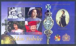 E88- Niuafo'ou - 2002 Queen Elizabeth II Golden Jubilee. - Royalties, Royals
