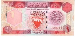 BAHRAIN P.19b 1 Dinar 1998   Unc - Bahrein