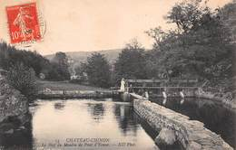 58 - Château-Chinon - Le Bief Du Moulin De Pont D'Yonne - Belle Animation - Chateau Chinon