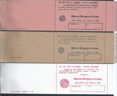 3 Cintas De Notas De 1000, 2000 E 5000 Escudos Do Banco Borges & Irmão.3 Bank Notes Of 1000, 2000 And 5000 Escudos BBI - Coins & Banknotes