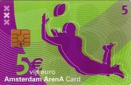 TARJETA FUNCIONAL DE AMSTERDAM ARENA CARD DE HOLANDA (CHIP) DEPORTES - RUGBY. A046.01a (176) - Otras Colecciones