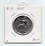 Italia - 1922 - Vittorio Emanuele III° - Buono Da 1 Lira - (FDC9510) - 1861-1946 : Kingdom