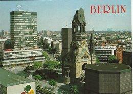 Berlin - Europe Center And Kaiser Wilhelm Memorial Church. Germany.    # 07503 - Allemagne