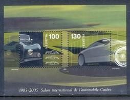 E103- Switzerland 2005 Centenary Of Automobile Salon Cars Geneva. - Switzerland