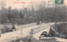 58 - Château-Chinon - Le Pont D'Yonne Magnifiquement Animé - Chateau Chinon