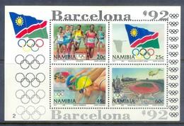 E105- NAMIBIA 1992. Barcelona Barcelona Olympic. - Summer 1992: Barcelona