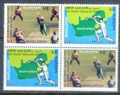 E106- Bangladesh 2007 ICC World Twenty 20 Cricket Cup. - Bangladesh