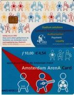 TARJETA FUNCIONAL DE AMSTERDAM ARENA CARD DE HOLANDA (CHIP). MUSICA. (195) - Otras Colecciones
