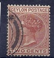 180028196  CEILAN  YVERT   Nº 48 - Ceilán (...-1947)