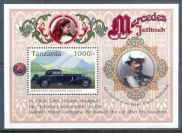 E111- Tanzania 1996. Mercedes Benz Automobile. - Cars