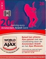 TARJETA FUNCIONAL DE AMSTERDAM ARENA CARD DE HOLANDA (CHIP), MUSICA. A046.03 (163) - Otras Colecciones