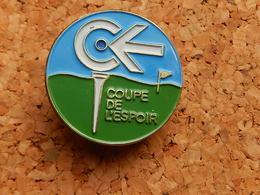 Pin's - GOLF - COUPE DE L'ESPOIR - Golf