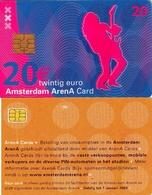 TARJETA FUNCIONAL DE AMSTERDAM ARENA CARD DE HOLANDA (CHIP), MUSICA. A046.03a (164) - Otras Colecciones
