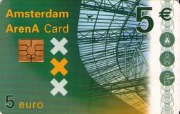 TARJETA FUNCIONAL DE AMSTERDAM ARENA CARD DE HOLANDA (CHIP). A043.01a (160) - Otros
