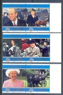 E115- Seychelles 1997. Golden Wedding Queen Elizabeth & Prince Philip. - Royalties, Royals
