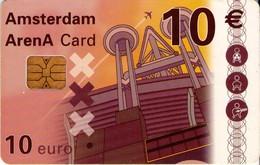 TARJETA FUNCIONAL DE AMSTERDAM ARENA CARD DE HOLANDA (CHIP). A043.02 (161) - Otras Colecciones
