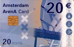 TARJETA FUNCIONAL DE AMSTERDAM ARENA CARD DE HOLANDA (CHIP). A043.03a (162) - Otras Colecciones