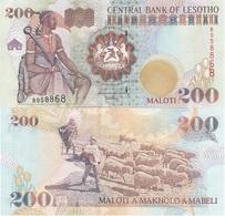 Lesotho - 200 Maloti 2001 UNC Lemberg-Zp - Lesoto