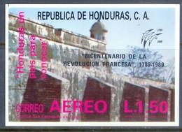 E119- Honduras 1989, 200th French Revolution. - Honduras