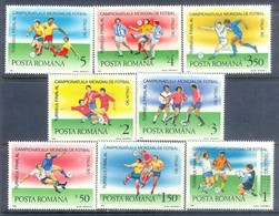E121- Romania 1990 Football Soccer World Cup, Space. Map. Flag. - World Cup