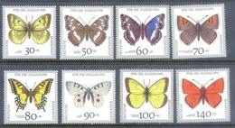 E123- Germany Butterflies 1991 Insect Butterfly. - Butterflies