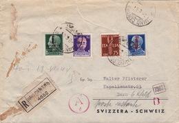 Brief Von Luino In Die Schweiz (br3484) - 4. 1944-45 Repubblica Sociale