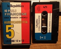 # MC / Audiocassetta: Corso Di Francese N. 5 - Io Parlo Francese, Repubblica - Cassette