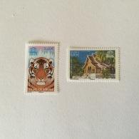FRANCE 2006 UNESCO Tigre Et Temple  Du Vat Xieng Tong (Laos (2vals)Superbe Neuf-MUH Yv134-135 - Ungebraucht
