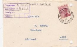Postkarte Von Capri In Die Schweiz (br3487) - 1900-44 Victor Emmanuel III