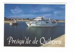56 Presqu' Ile De Quiberon Bateau Le Vindilis Courrier De Belle Ile à Port Maria - Quiberon