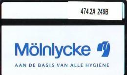 Telefoonkaart  LANDIS&GYR NEDERLAND * RCZ.474.02   249b * Molnlycke * TK * ONGEBRUIKT * MINT - Nederland