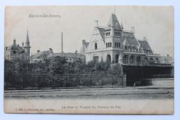 La Gare Et Tunnel Du Chemin De Fer, Berchem-lez-Anvers, België Belgique - Belgium