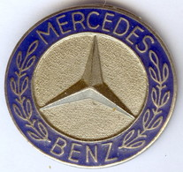 Médaille Insigne Voiture MERCEDES BENZ LOGO - Mercedes