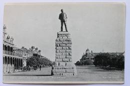 Cecil John Rhodes Statue, Bulawayo, Zimbabwe / Southern Rhodesia, Africa (damaged) - Zimbabwe