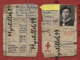 Lot 38 Photographies De Camps Scouts Entre 1949/1954 - Troupe Notre-Dame De Saint-Pol De Léon - Avec Carte - Lieux
