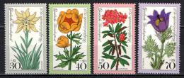 GERMANIA - 1975 - SERIE FIORI DELLE ALPI - FLOWERS - MNH - Neufs