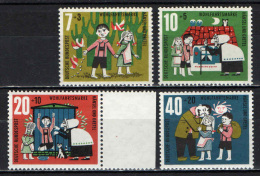 GERMANIA - 1961 - FAVOLA DEI FRATELLI GRIMM: HANSEL E GRETEL - MNH - Unused Stamps