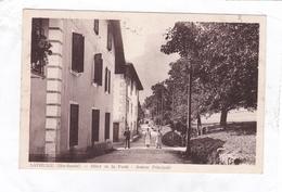 CPA: 14 X 9.   -   LATHUILE  -  Hôtel De La Forêt  -  Avenue Principale - France