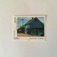SPM  2009 Art 'Le Blanc Bleu' Raphaele Goineau Superbe-MUH Yv 952 - St.Pierre & Miquelon