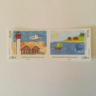 SPM  2010 Art. Regards Croises (2vals) Superbe-MUH Yv976-77 - St.Pierre & Miquelon