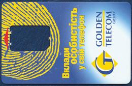 UKRAINE GOLDEN TELECOM GSM (SIM) CARD FRAME VERY GOOD USED - Ukraine