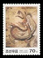 North Korea 2000 Mih. 4254 Year Of The Dragon. Koguryo Tomb Murals MNH ** - Korea (Nord-)