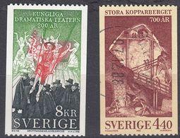 SVERIGE - SVEZIA - SWEDEN - 1988 - Lotto Due Valori Obliterati: Yvert 1474 E 1475. - Gebraucht